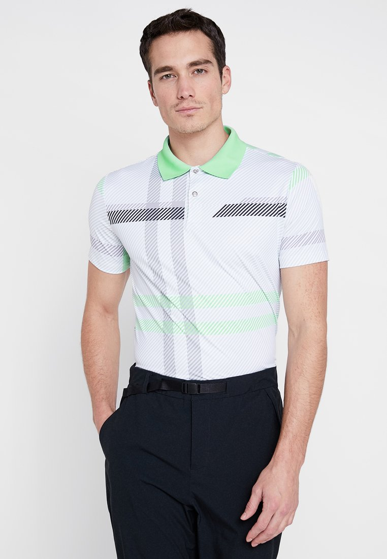 Colmar - GLOWING - Polo - white/opal/black