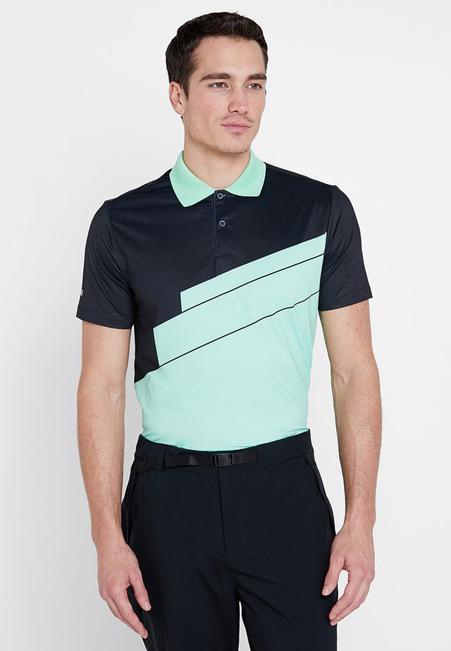 ABSTRACT - Poloshirt - black/opal