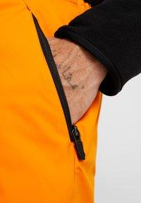 Colmar - MENS INSULATED PANTS - Skibukser - orange pop - 4