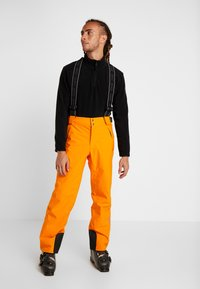 Colmar - MENS INSULATED PANTS - Skibukser - orange pop - 0