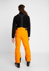 Colmar - MENS INSULATED PANTS - Skibukser - orange pop - 2