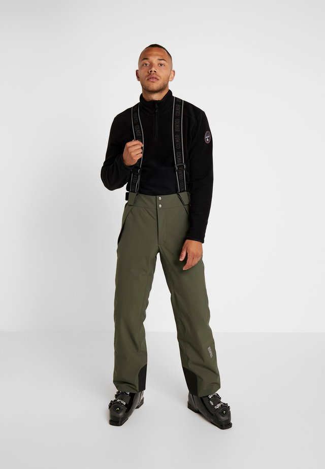 MENS INSULATED PANTS - Skibroek - jungle