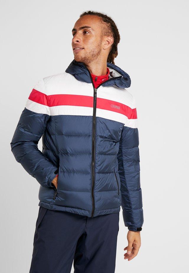 Lyžařská bunda - blue black/white/brigt red
