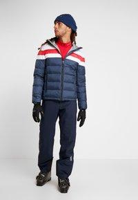 Colmar - Skijacke - blue black/white/brigt red - 1