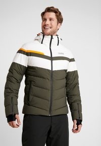 Colmar - Veste de ski - jungle-white/orange pop/jungle - 0