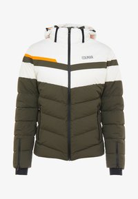 Colmar - Veste de ski - jungle-white/orange pop/jungle - 4
