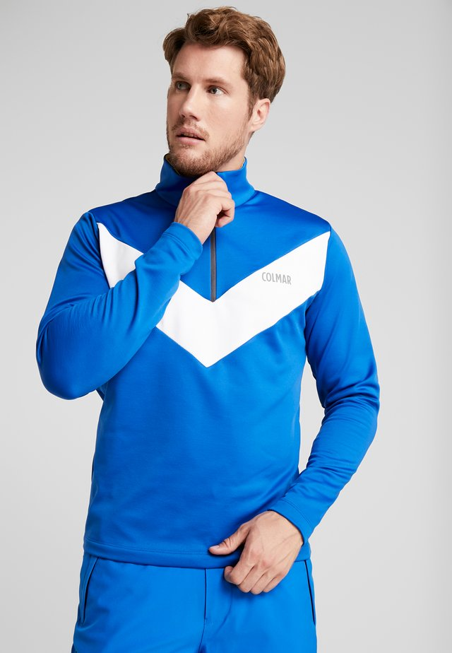 MENS - Fleecepullover - saphire/white/tweety