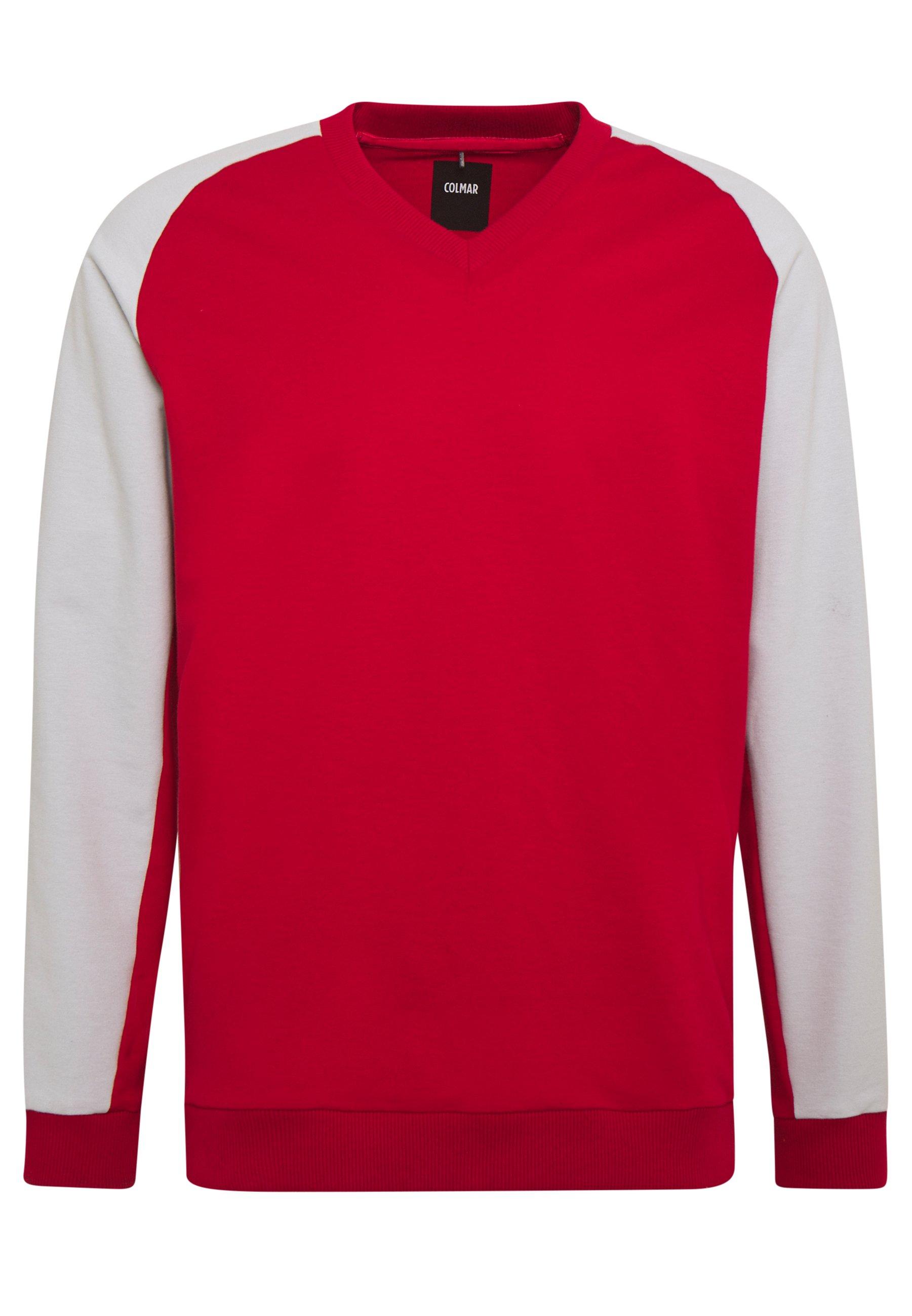 WISDOM Sweater redpearly grey