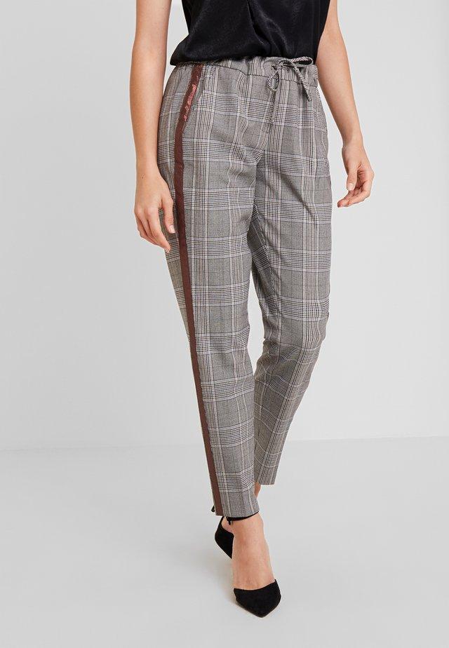 Pantalon classique - grey/black