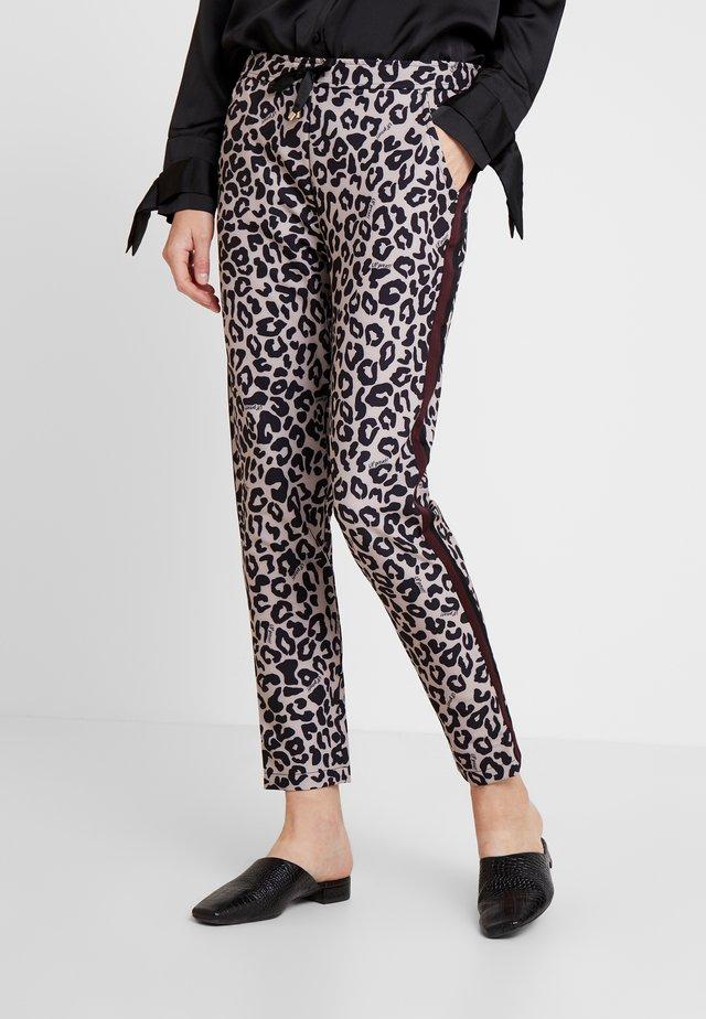 Pantalon classique - rosé/black