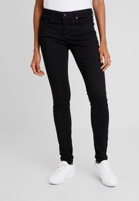 Cartoon - LANG - Jeansy Skinny Fit - black - 0