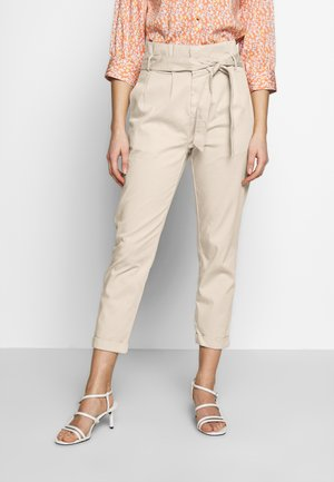 Trousers - pastel sand