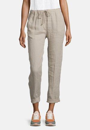 UNIFARBEN - Trousers - beige