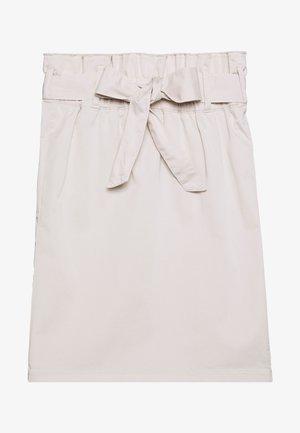 A-line skirt - white sand