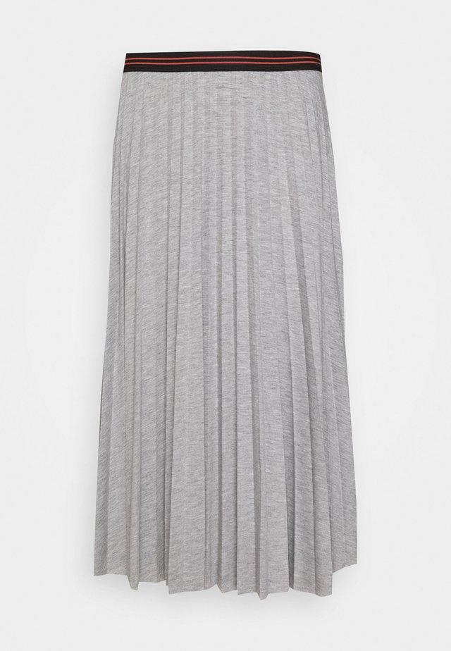 A-lijn rok - light grey melange