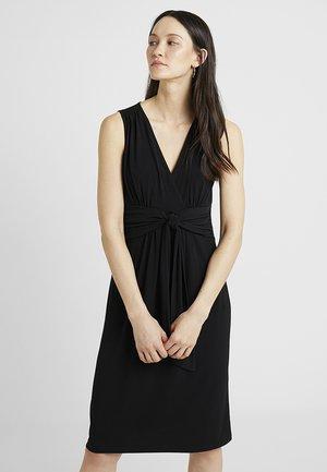 KNOT DETAIL DRESS - Vestito estivo - black