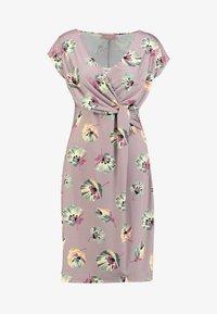 Cartoon - Jersey dress - taupe/green - 4