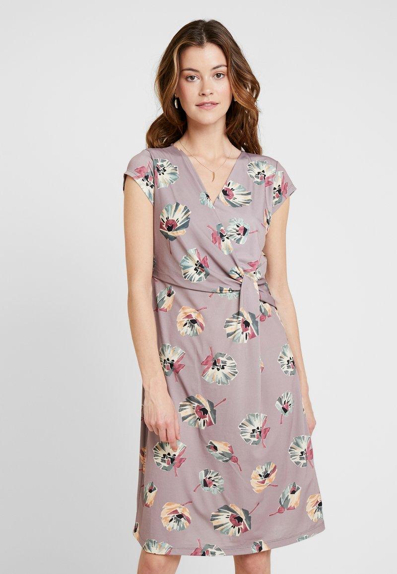Cartoon - Jersey dress - taupe/green