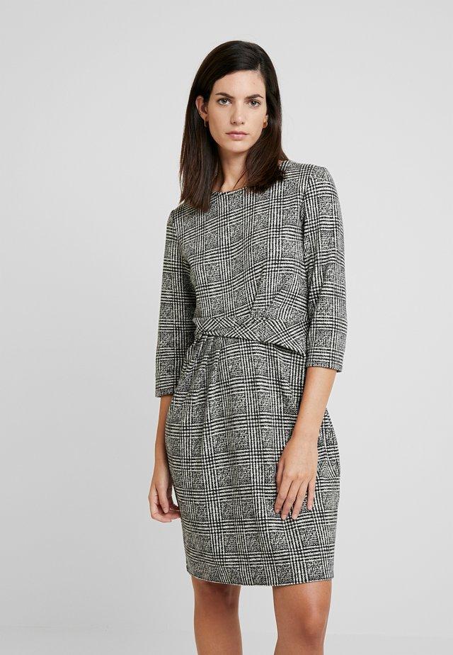 Robe fourreau - black/grey