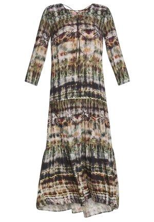 Maxi dress - taupe/green