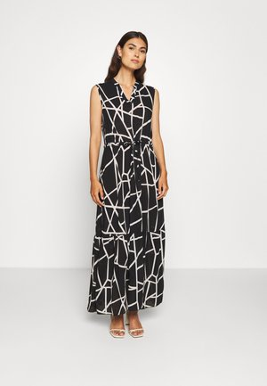Maxi dress - black/white