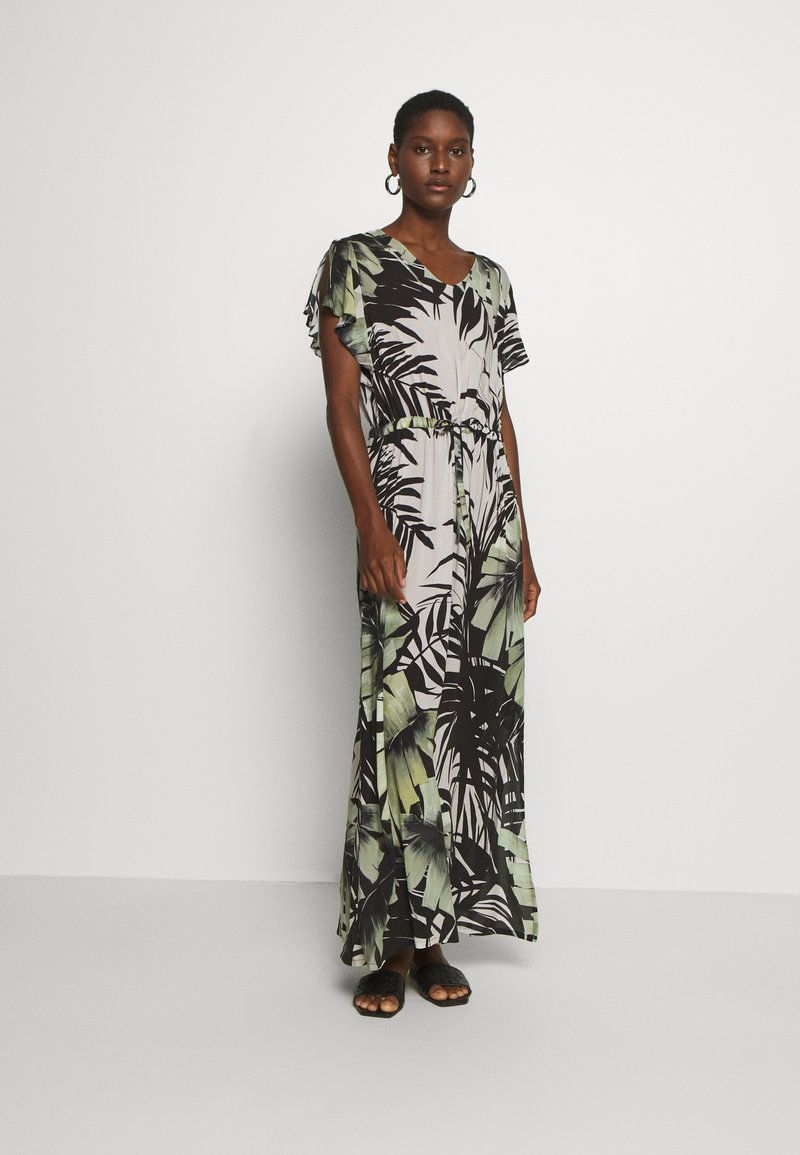 Cartoon - Maxi-jurk - white/green