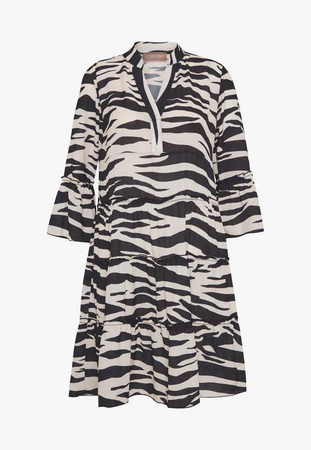 KLEID - Day dress - black/white
