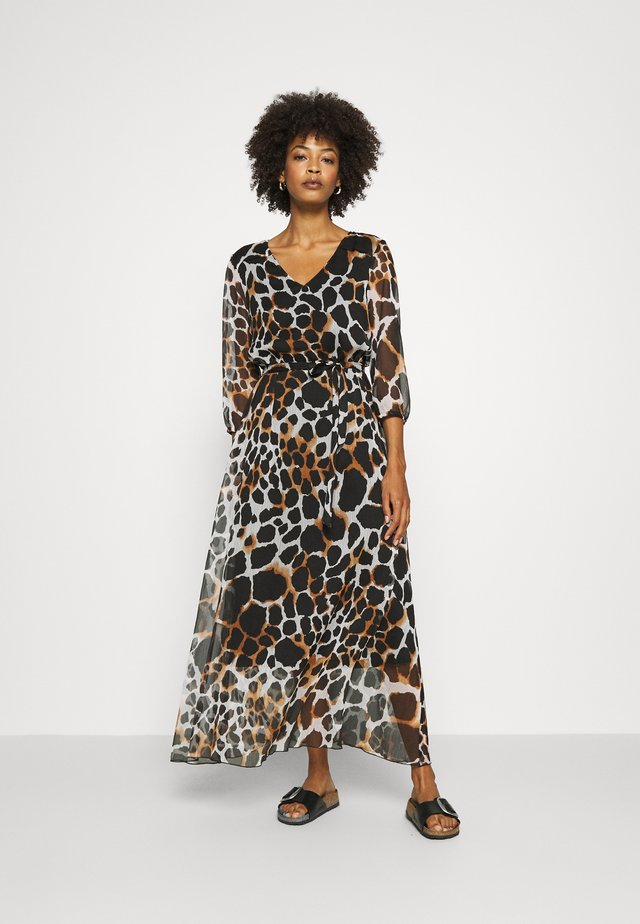 LANG - Maxi dress - grey/black