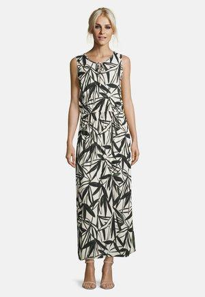Maxi dress - white/grey