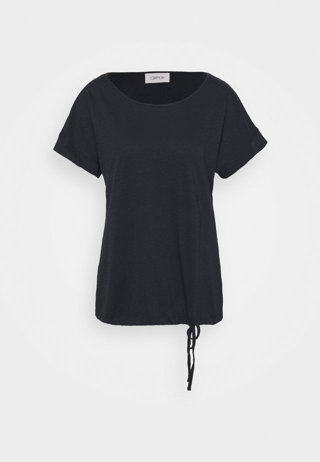 MASSTAB - T-shirt z nadrukiem - dark navy