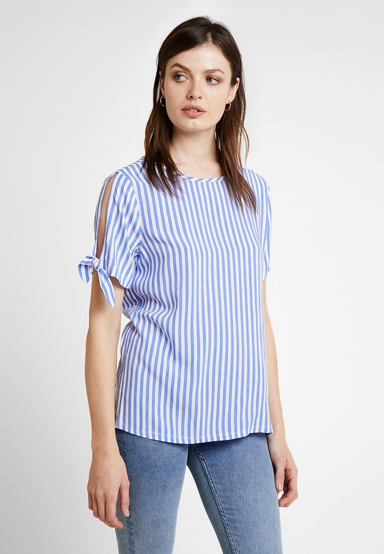 Cartoon - MASSTAB - Bluse - blue/cream