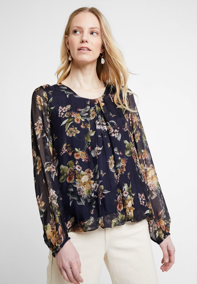 Cartoon - FLORAL BOHO - Bluse - dark blue/multi-coloured