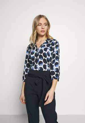 Blouse - white/dark blue