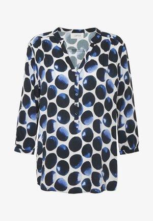 Blusa - white/dark blue