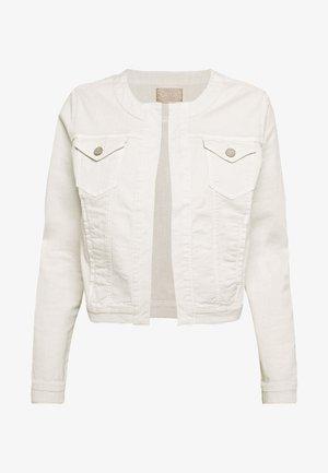 Denim jacket - pearl beige