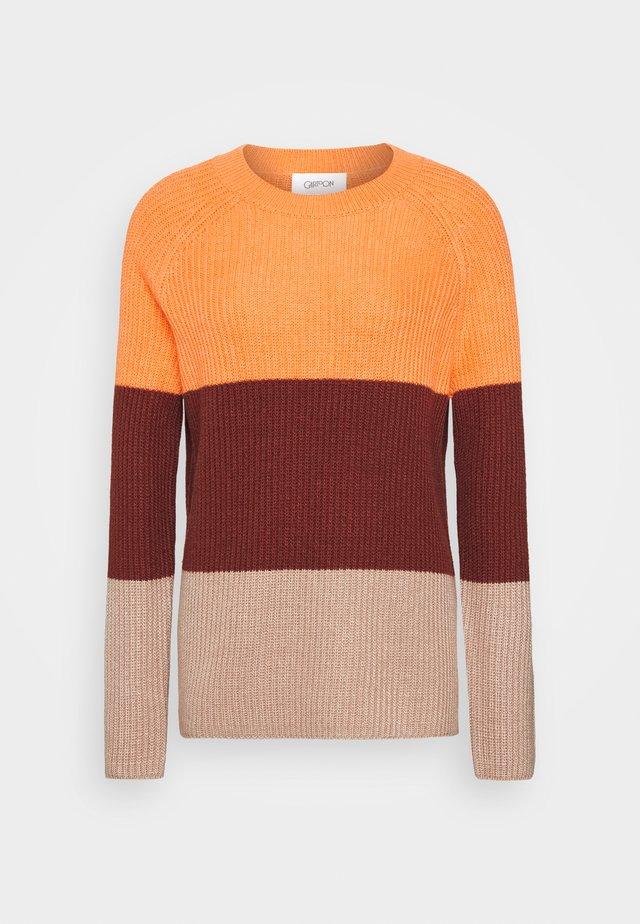 Trui - orange/brown