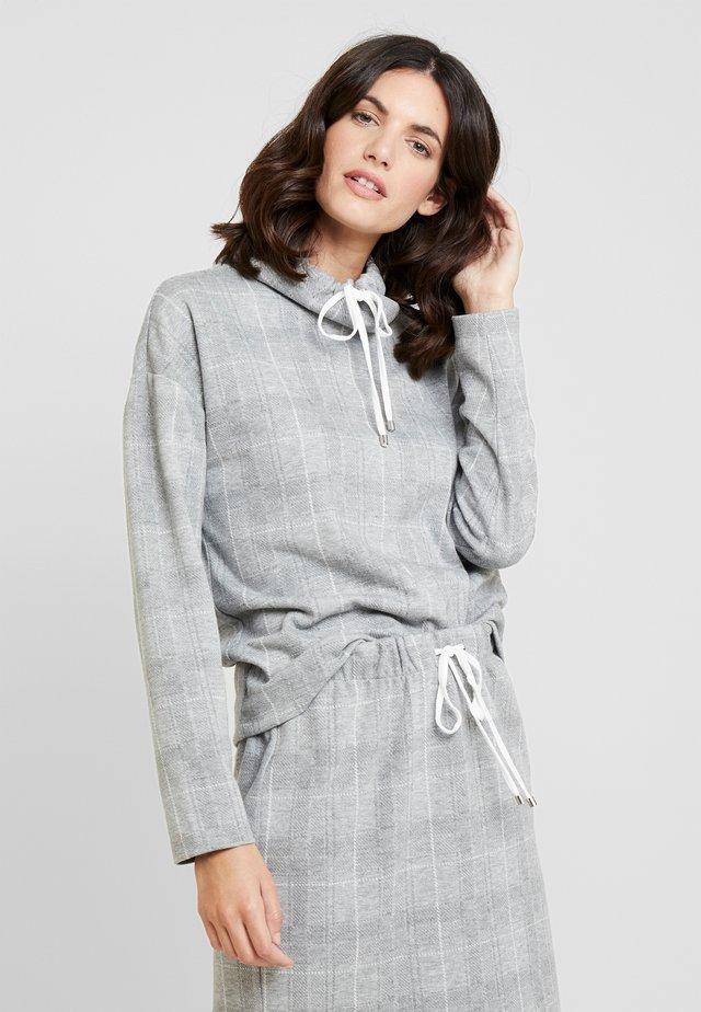 Långärmad tröja - grey/cream