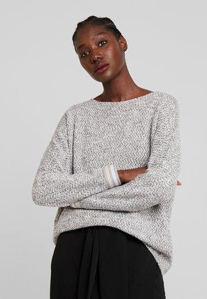 Sweter - grey/cream