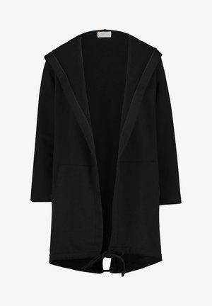 MIT KAPUZE - Cardigan - black