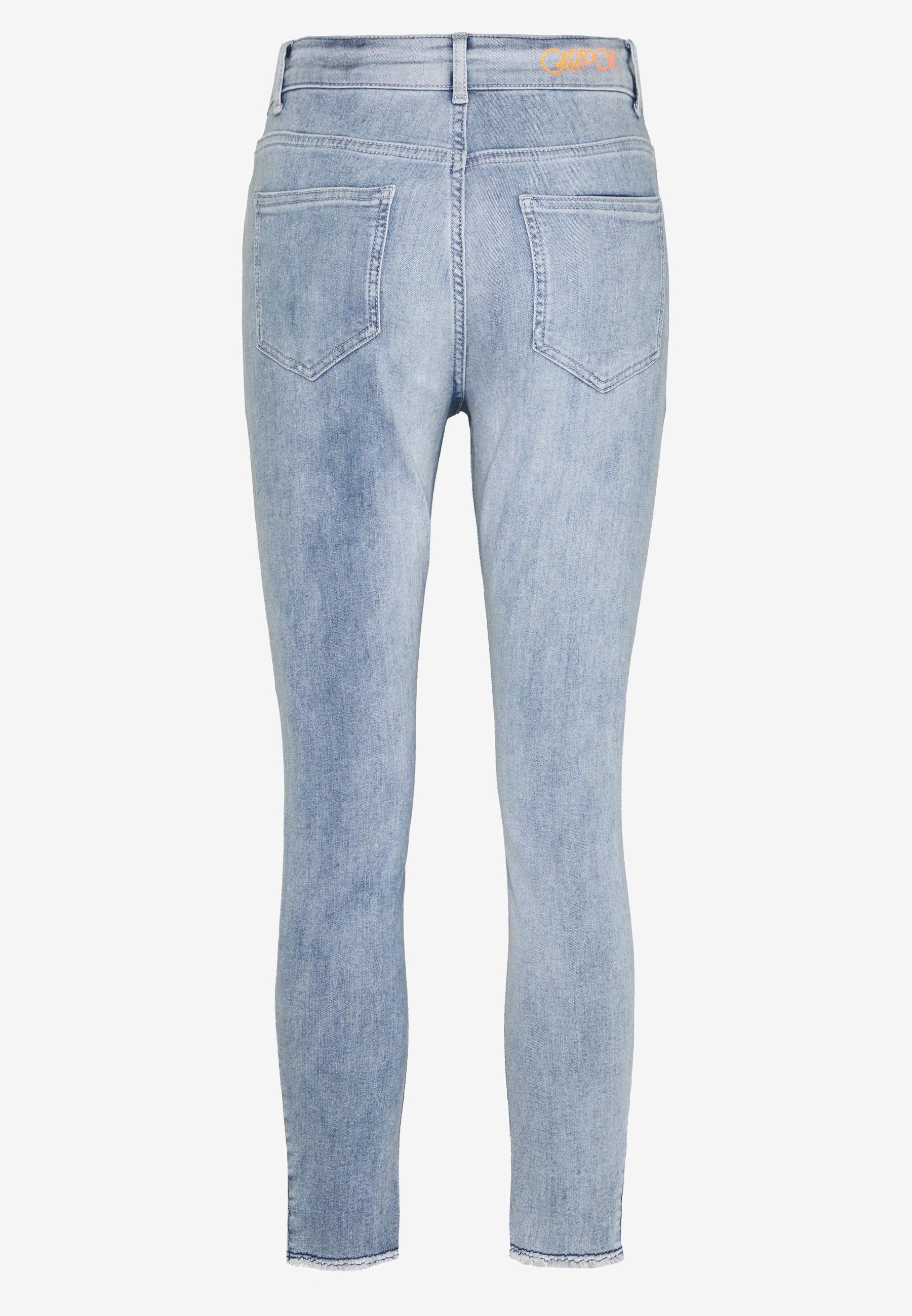 Cartoon Jeans Skinny Fit - light blue denim gi5OMI7J