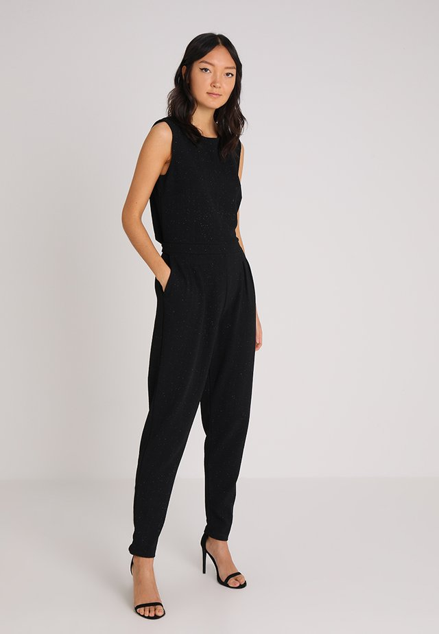 OVERALL - Jumpsuit - black/silver