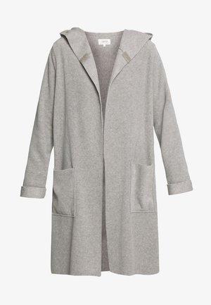 Krátký kabát - taupe melange