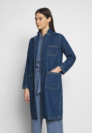 Manteau classique - dark blue denim