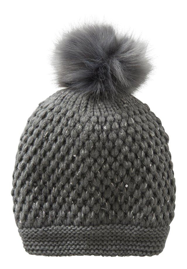 Mütze - dunkelgrau