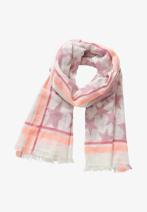 MIT STERNEN - Schal - cream/pink