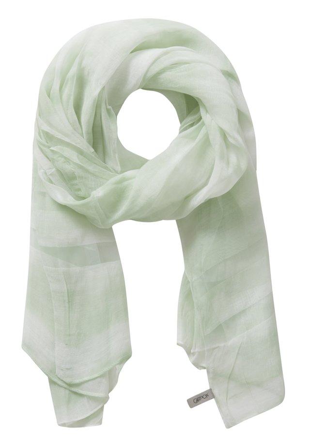 MIT MUSTER - Schal - green/white