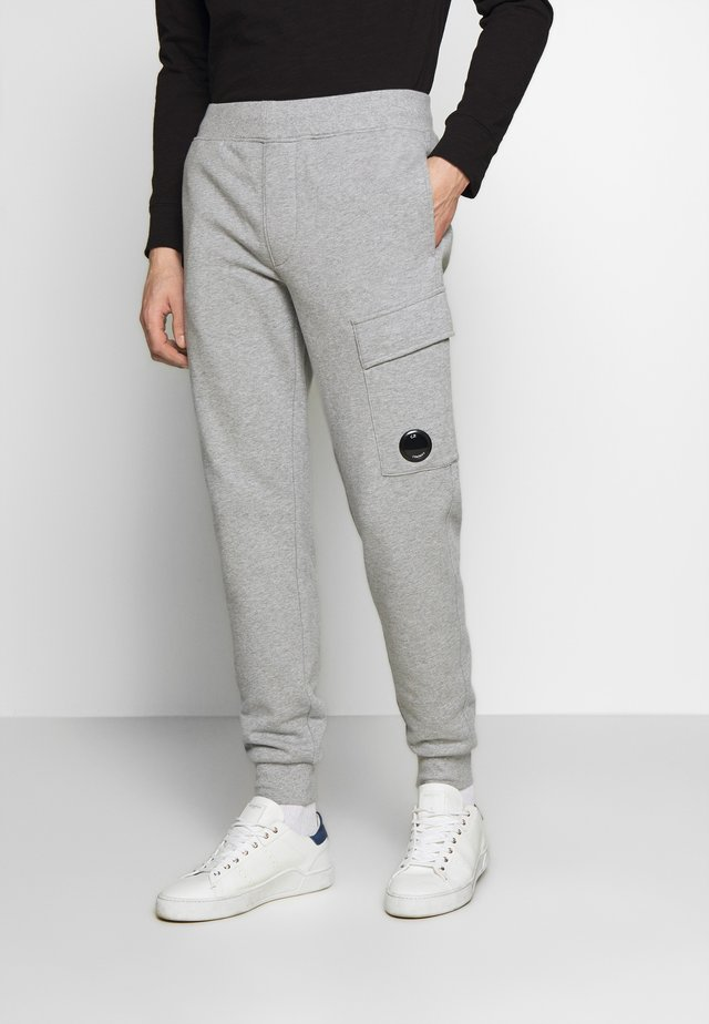 JOGGERS - Tracksuit bottoms - grey melange