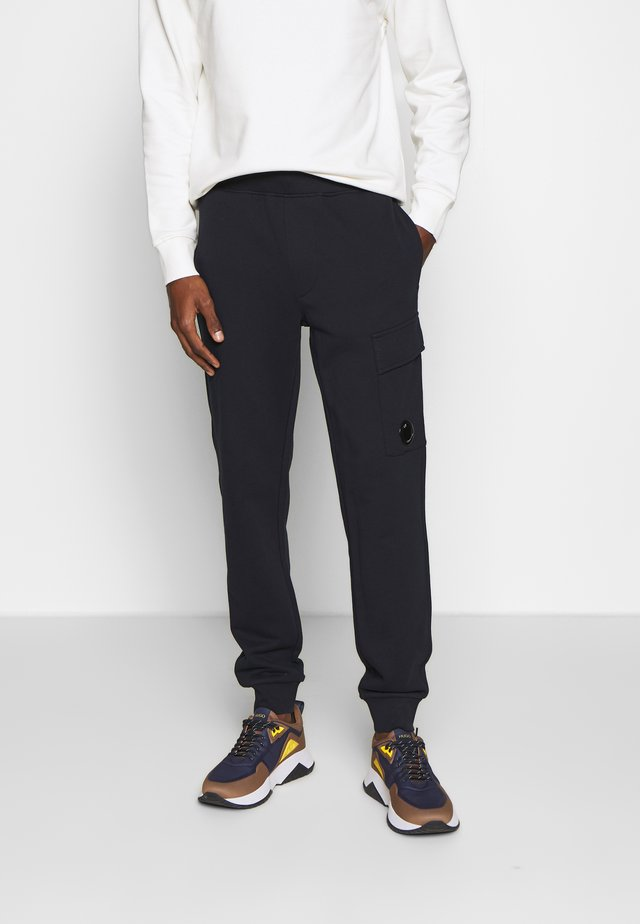 JOGGERS - Tracksuit bottoms - navy