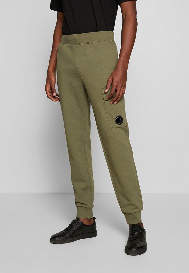 JOGGERS - Teplákové kalhoty - olive