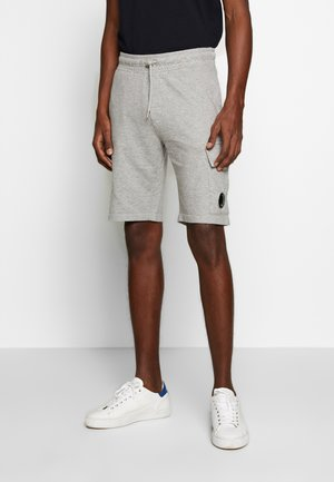 BERMUDA - Tracksuit bottoms - grey melange